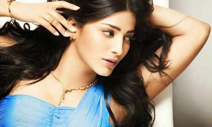 shruti haasan back in tamil cinema