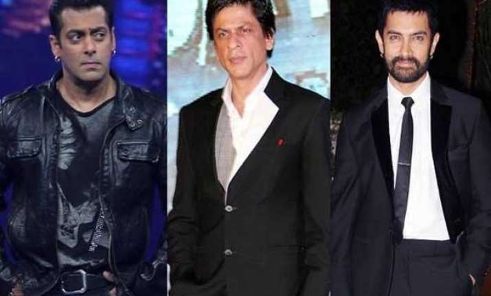 srk aamir and salman together in a film read what srk says