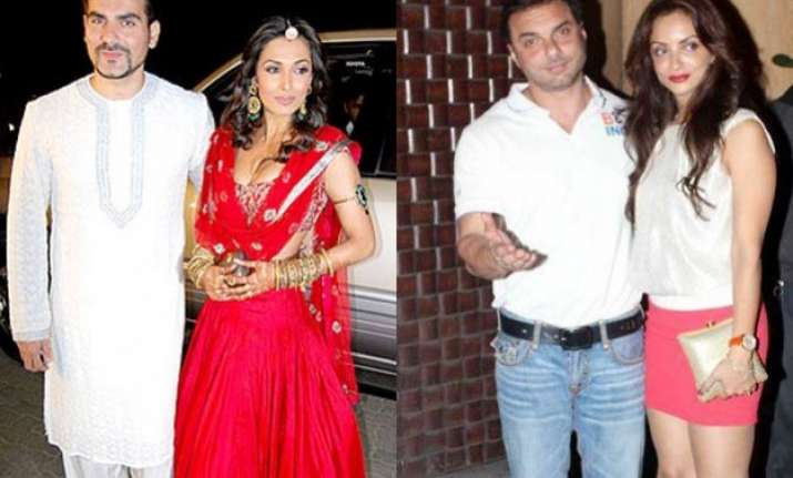 another break up after arbaaz malaika sohail khan s