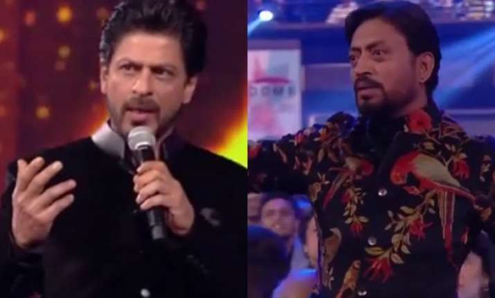 when srk s self obsession prompted irrfan to leave filmfare