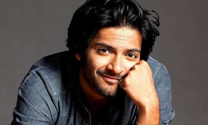 working diwali for ali fazal