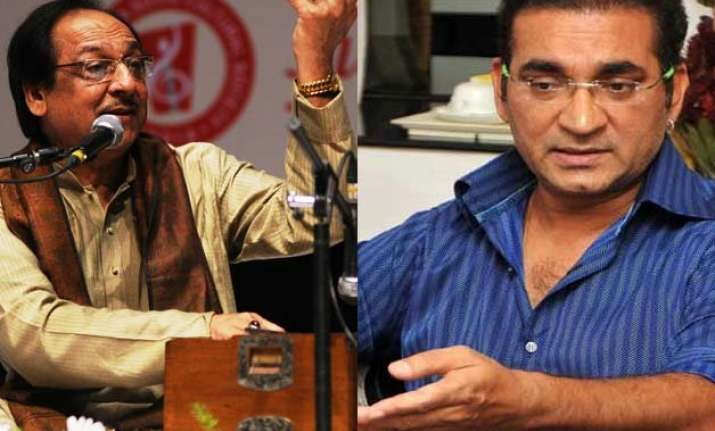 abhijeet insults ghulam ali calls him dengue artist on