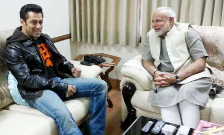 salman khan puts narendra modi as top priority guest for
