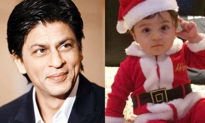 shah rukh khan is more happy about son abram s debut in