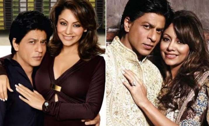 shah rukh khan and gauri khan s unseen and rare images
