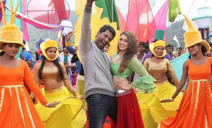 aambala movie review nothing masculine about it