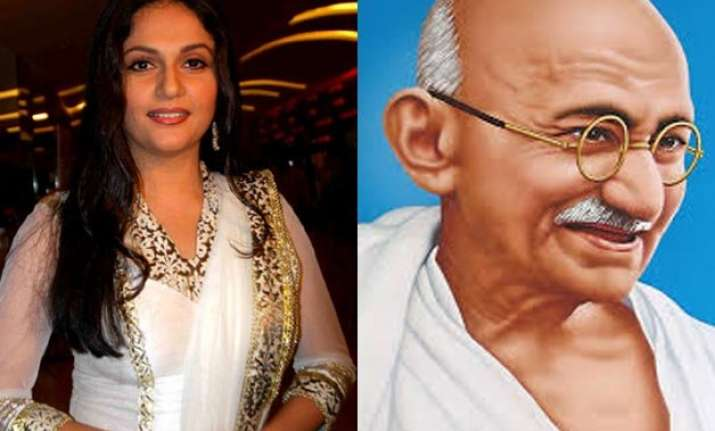 gracy singh to feature in gandhi based movie