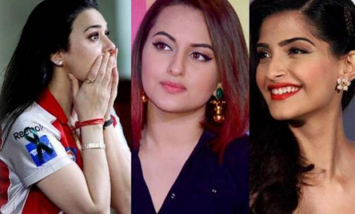 embarrassing goof up when preity zinta called sonakshi