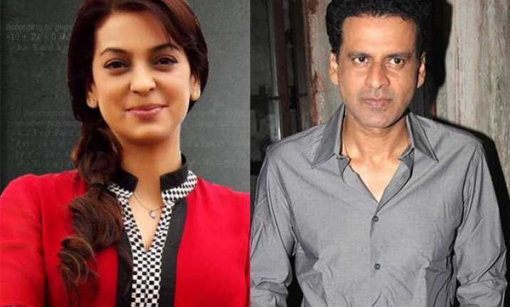 what juhi chawla kicked out manoj bajpayee from chalk n