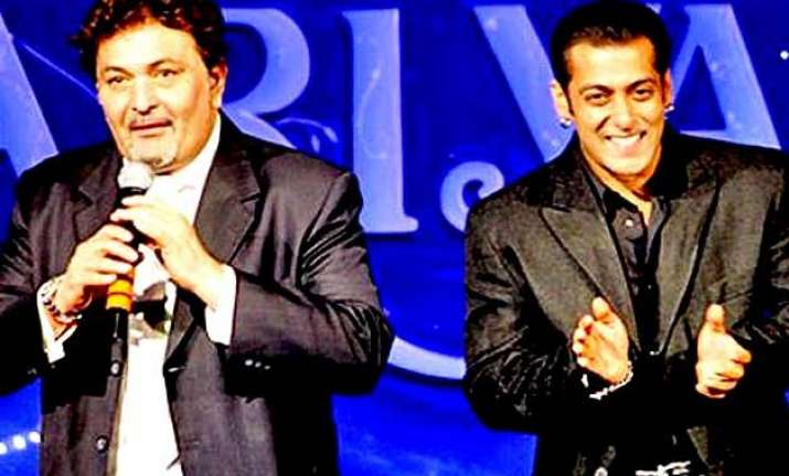 salman khan is the most handsome in bollywood rishi kapoor