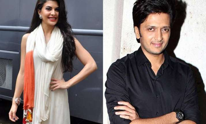 jacqueline a live wire on bangistan sets riteish