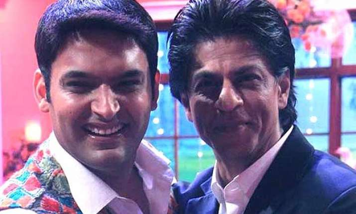 kapil sharma refuses tv show with shah rukh khan