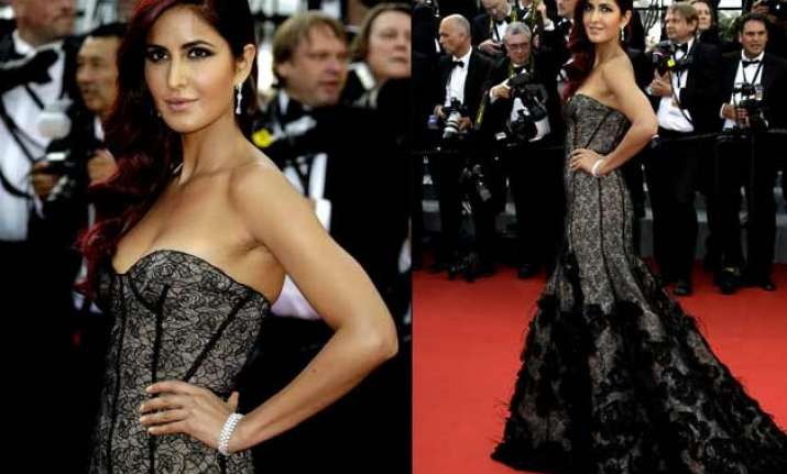 cannes 2015 katrina kaif stuns in black gives a tough