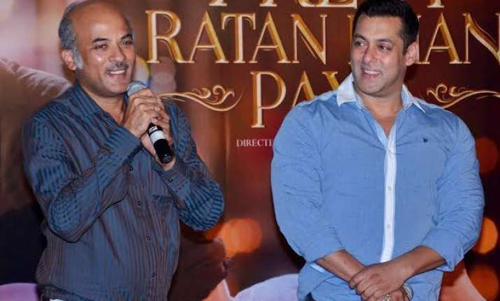 no room for difference between sooraj barjatya and salman