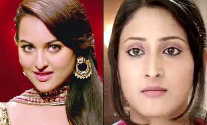 tv actress shivya mistaken for sonakshi sinha