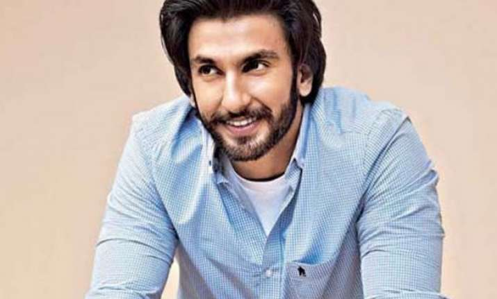 ranveer singh sends best wishes to on screen brother