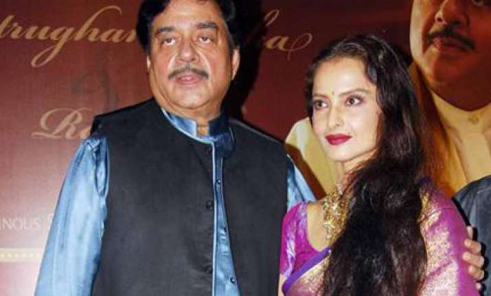 shatrughan rekha pair together after 30 years