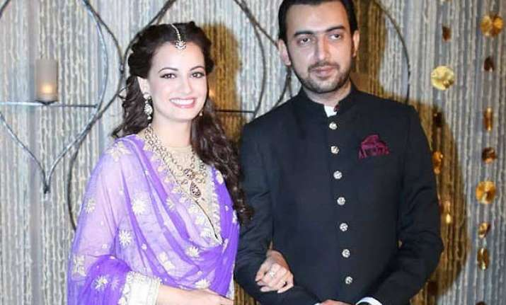 dia mirza to visit home town hyderabad first time post