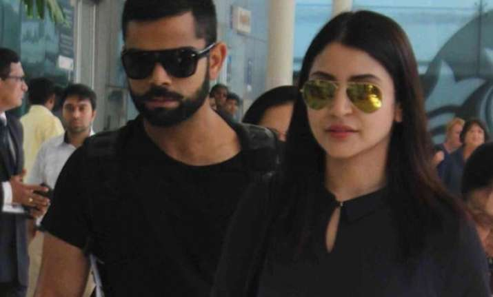 virat and anushka holidaying in south africa see pics