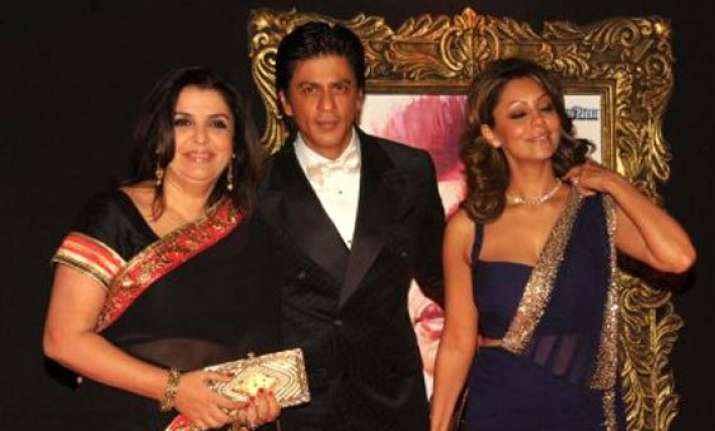 who brought shah rukh farah khan together after their spat