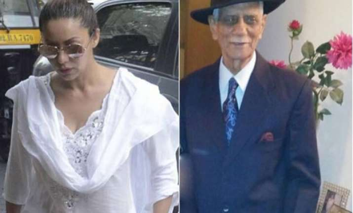see pic gauri khan s emotional tribute to her late father
