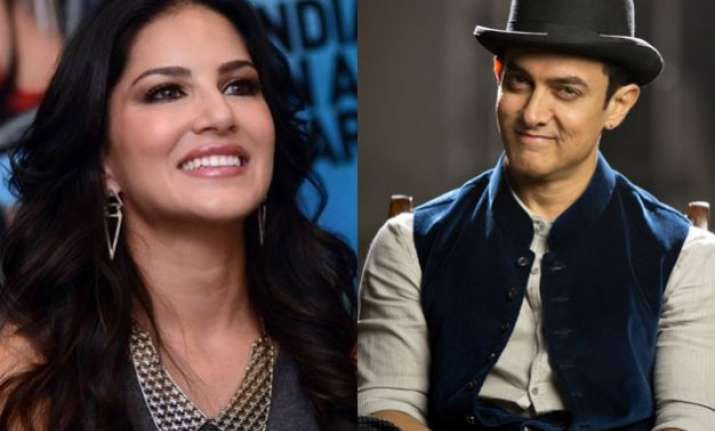 aamir khan just said he would love to work with sunny leone