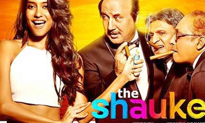 shaukeens movie review the rangeela trio will tickle your
