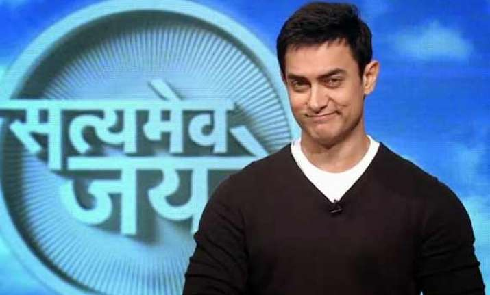 is aamir khan really forcing people to sell their property