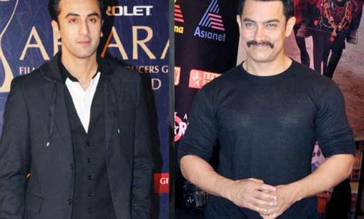 is ranbir kapoor afraid of perfectionist aamir khan