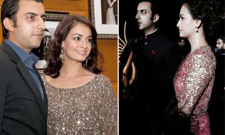 it s official dia mirza is finally engaged to long time