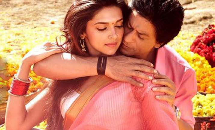 it s official deepika padukone to star opposite shah rukh