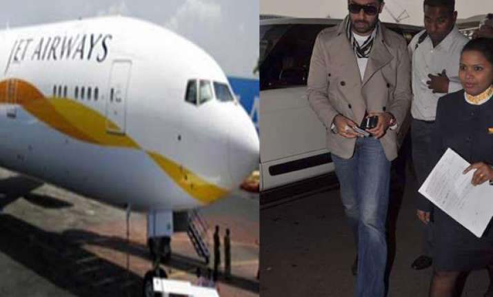 jet airways staff stopped abhishek from boarding plane