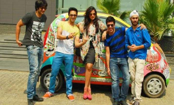 jugaad song launch for comedy movie fukrey