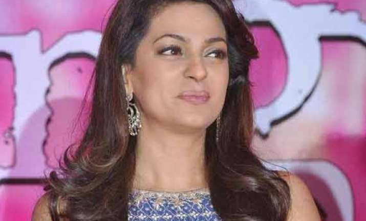 juhi chawla happy that trouble is over for gulaab gang