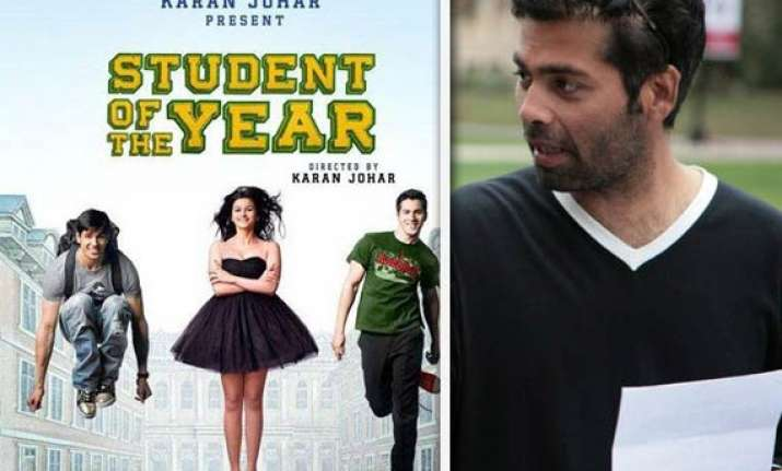 kjo begins shooting for student of the year with song