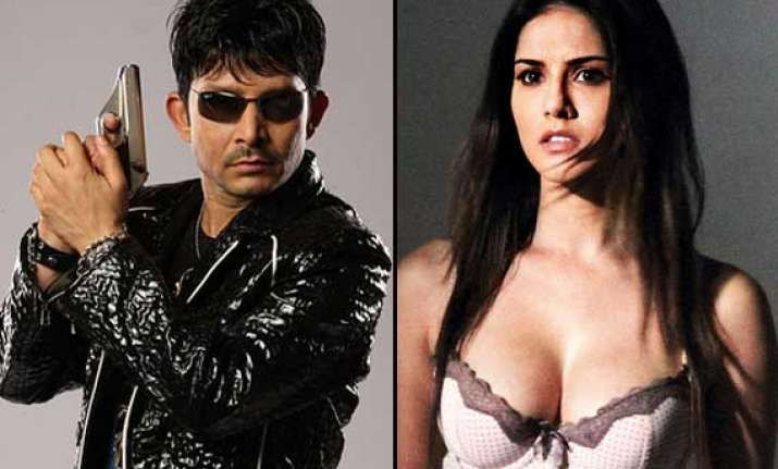 krk offers rs 1 cr for sunny leone s strip dance complaint