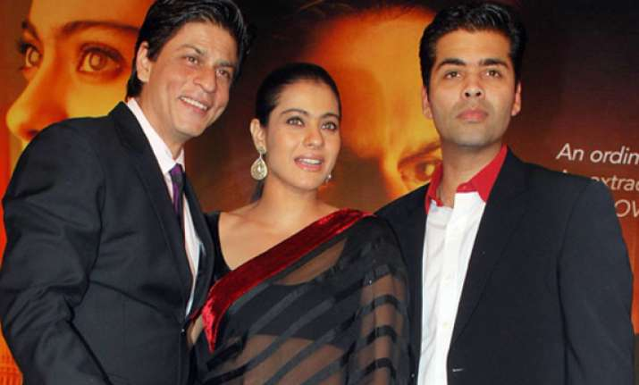 kajol and srk to play cameo in student of the year