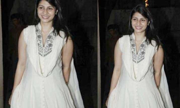 kajol s sister tanisha moves to production with ajay devgn