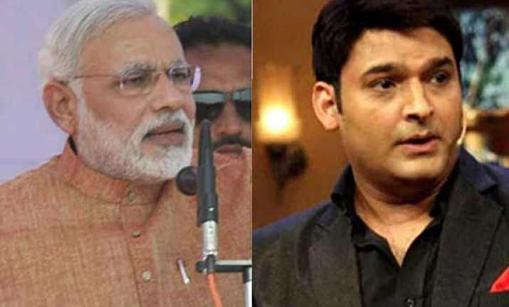 narendra modi tweet controversy kapil sharma urges people