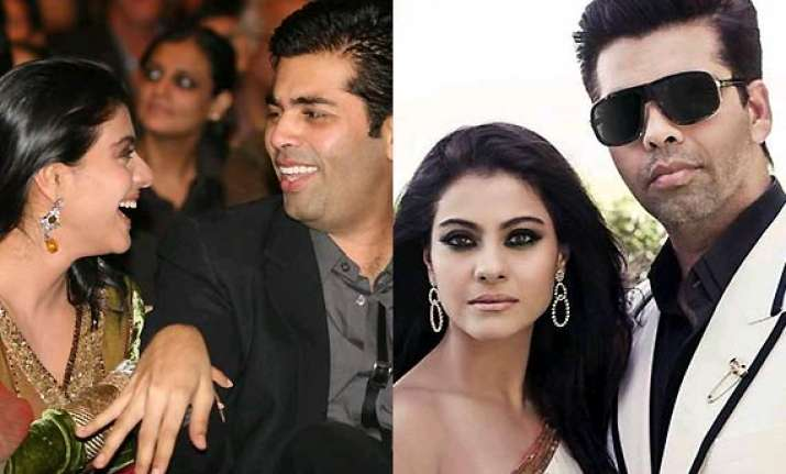 karan johar kajol and me have no fall out