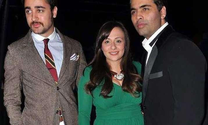 karan johar denies spat with imran khan calls avantika