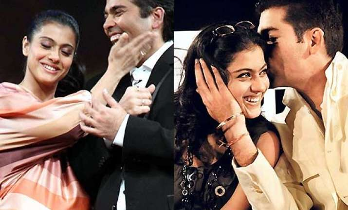 karan johar s no comments over bestie kajol sparks feud