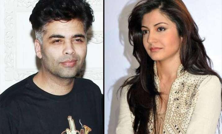 karan johar mocks anushka sharma over her affair with virat