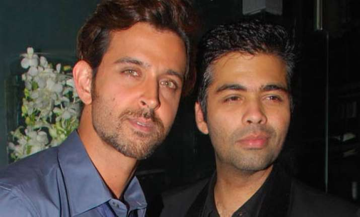 karan johar rubbishes reports over hrithik roshan asking