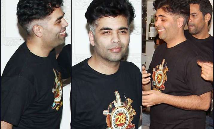 revealed karan johar s look in bombay velvet see pics