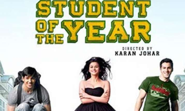 karan johar s student of the year to release oct 19