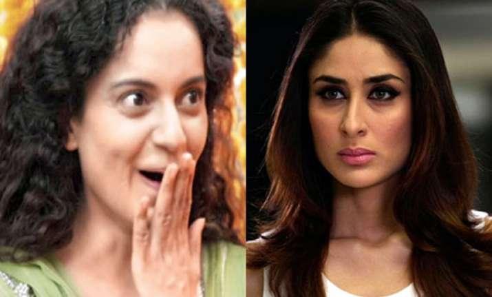 now kareena gets durga in charity after kangana vidya walk