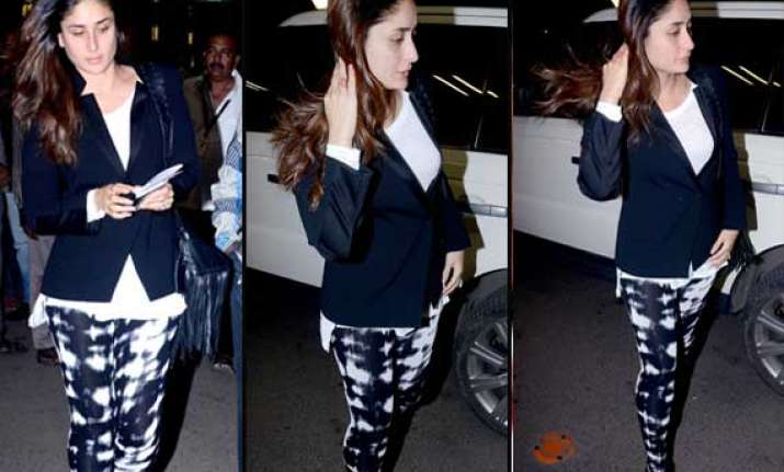 kareena kapoor flies to london for her wedding anniversary