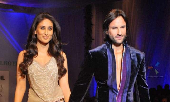 kareena kapoor to work with saif again