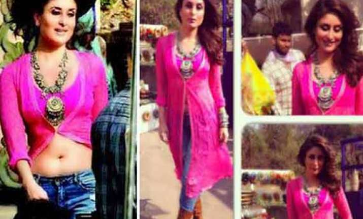 kareena couldn t say no to her friend for gabbar item song